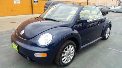 2004 Volkswagen New Beetle Convertible GLS