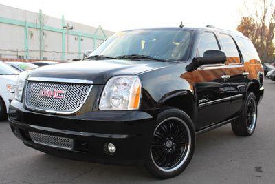 2012 GMC Yukon Denali Denali Black on Black