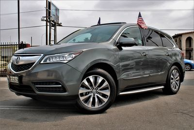2014 Acura MDX Tech/Entertainment Pkg
